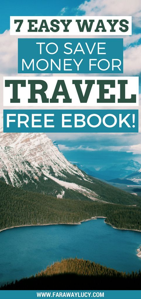 7 easy, quick and unique ways to save and earn money to travel the world and go on more holidays/vacations. Click through to download the FREE 28 page eBook + actionable checklist...