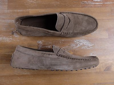 auth TOD'S Tods Gommini suede loafers shoes - Size 11.5 US / 10.5 UK / 44.5 EU