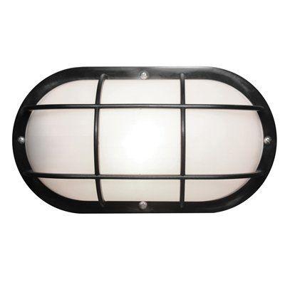 "WAVE Lighting S771WF Nautical Oval Marine Light - closets/basement, 10""x5"", $33"