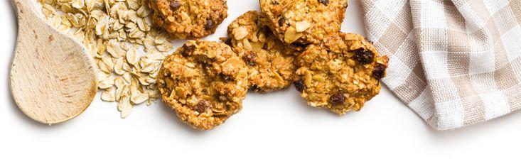 Μπισκότα βρώμης. Μία ωραία ιδέα για θρεπτικό vegan σνακ για το σχολείο και όχι μόνο! Δίνουν στα παιδιά την απαραίτητη ενέργεια.