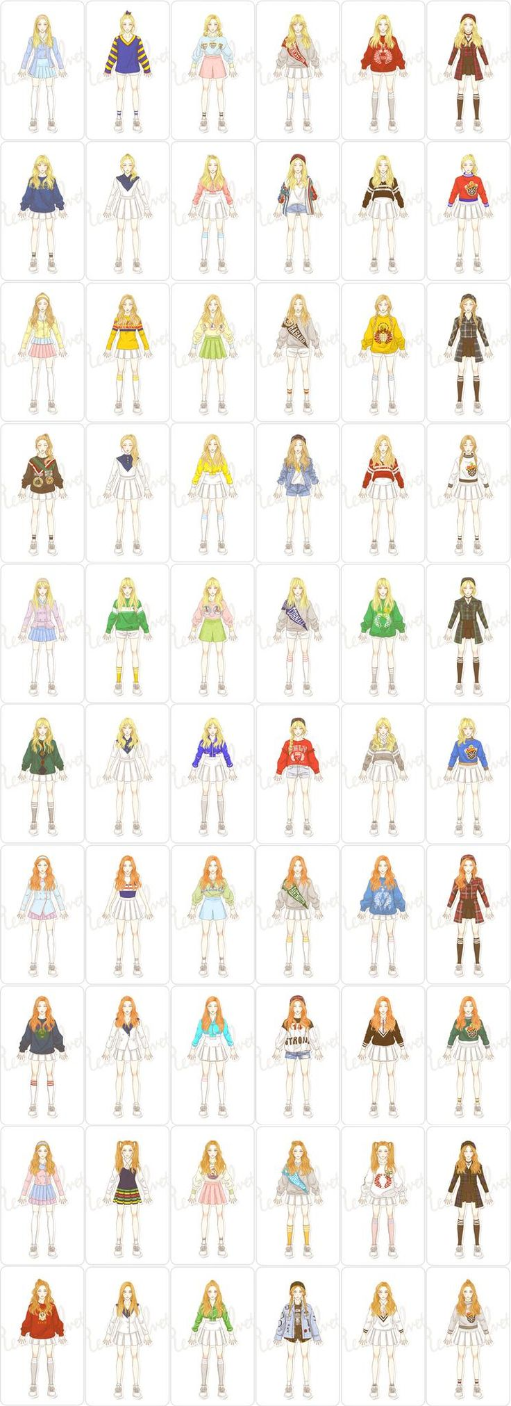 Ice Cream Cake outfits by luvgame  #RedVelvet
