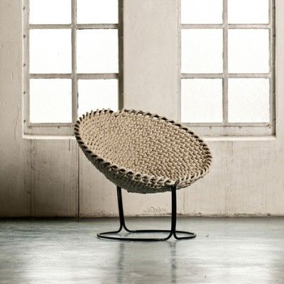 Femme Chair by Rik ten Velden: Single Knotted, Idea, Chairs, Rope Chair, Ropes