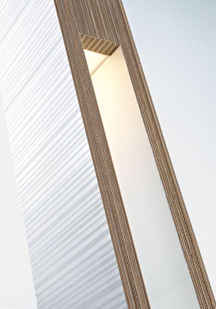 Le Anime di carta: dettaglio della lampada Totem www.staygreen.it