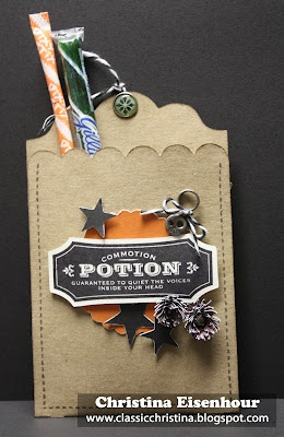 A fun Halloween pouch using the new Cricut Artiste cartridge