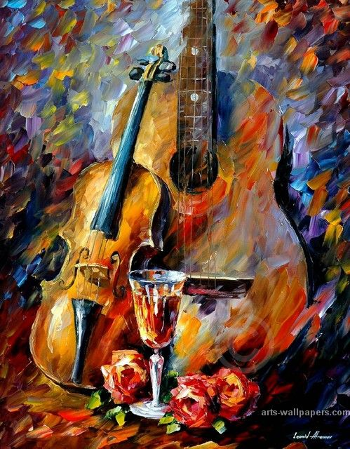 Music - food to the soul by: Leonid Afremov
