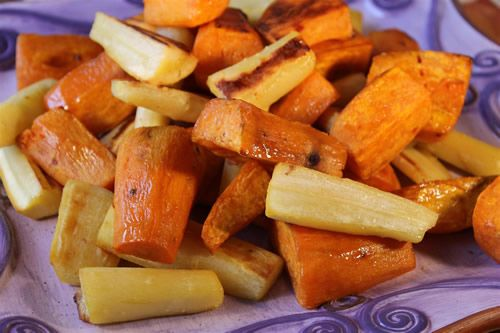 ... in this root vegetable duo that you'll think you're eating candy
