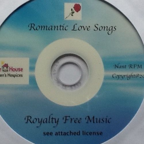 Easy Listening Romantic love songs ROYALTY FREE CD supporting HOPE HOUSE Hospice #EasyListening