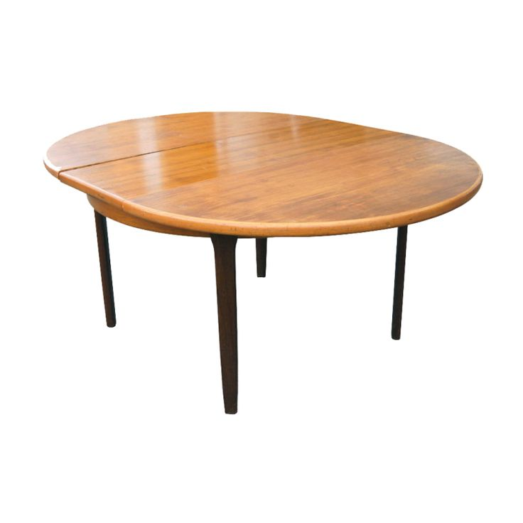Vintage Danish J. L. Møller Teak Extension Dining Table image 2