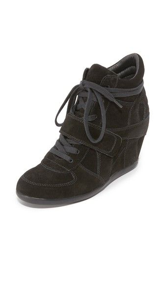 ASH Bowie Wedge Sneakers. #ash #shoes #sneakers