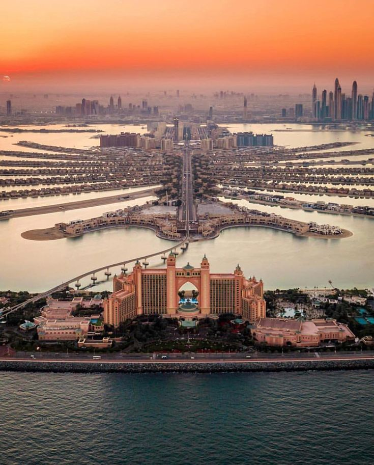 Palm Jumeirah -  Atlantis Palm Hotel