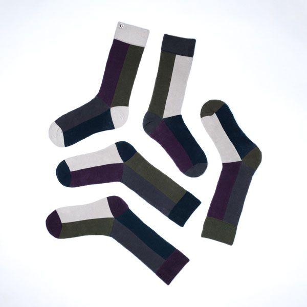 U R U Design - London 5x1 SOLO SOCKS | ENIITO
