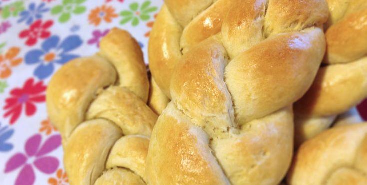 Treccine di pane alle patate