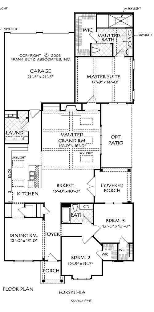 Designer dream homes plans