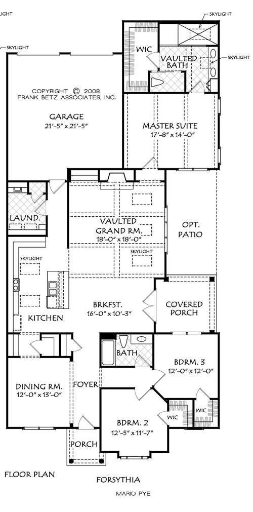 Designer dream homes plans