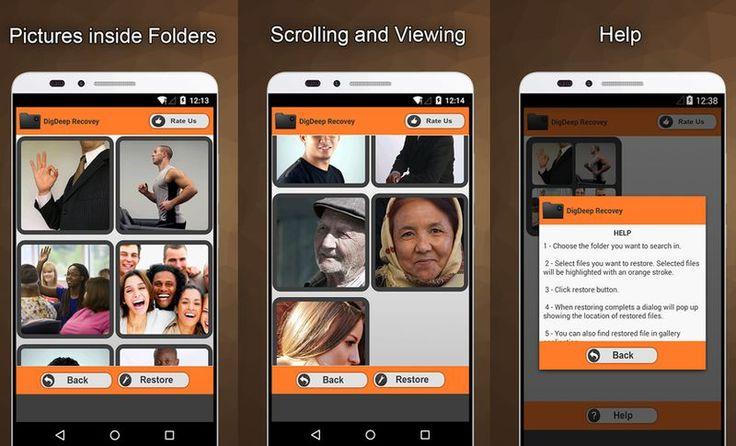 Recuperar fotos borradas en Android es posible con una aplicación completamente…