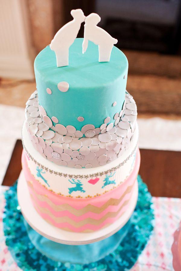 Winter cake theme
