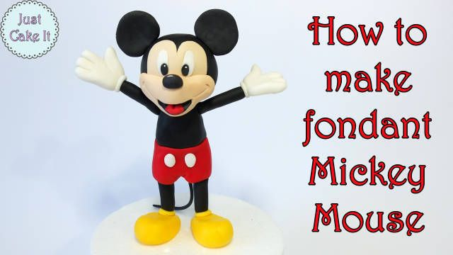 This is my first post in tutorials so I hope I'm posting it right and that the link with the video will work and will be visible here:) In this tutorial I'm showing how to make fondant Mickey Mouse. Hope you will like it!...