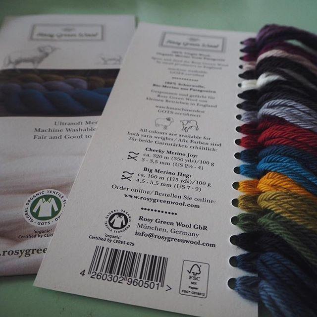 Om nogle få uger lander der nogle økologiske skønheder fra Rosy Green Wool i shoppen. Vi er ret forelskede i Cheeky Merino Joy 😍 Hvilke farver kunne I godt tænke jer? ✨ #rosygreenwool #økologisk #garn #organic #yarn #merino #uld #wool #strik #hækle #knitting #crochet #ecoknittingdk #igers #tagsforlikes #vsco #vscocam #vscogood #vscophile #vscogrid #vscogram