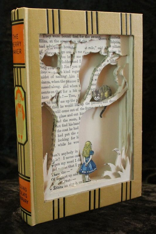 Inventive Fairytale-Like Book Sculptures – Fubiz Media