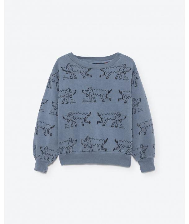 Sweatshirt Bear jersey blue
