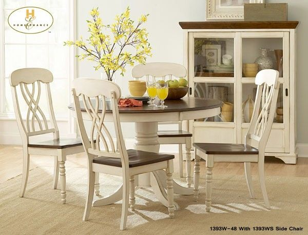 The Round Antique White Cherry Kitchen Table Set Including All Top Rated Tables At