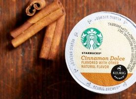 Starbucks Cinnamon Dolce Blend Medium Roast K Cup 128ct