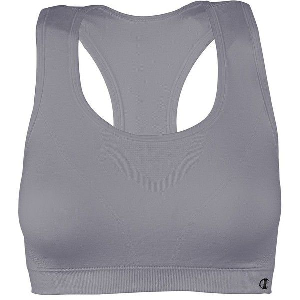 Champion Sports Bra Seamless Performance - 649 ($12) ❤ liked on Polyvore featuring activewear, sports bras, bras, sports bra, tops, active wear, sport, storm, champion sports bras and logo sportswear