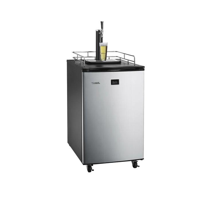 Versonel Stainless LCD Temp Full Keg Kegerator Beer-Meister VSL155TDSS - Versonel