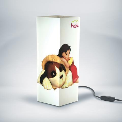 Lampada da Tavolo Heidi con Nebbia | W-LAMP    https://www.wellmade.store/collections/bambini