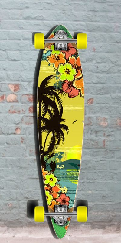 Longboards USA - Tropical Day Pintail Longboard 40 inch from Punked - Complete, $96.99 (http://longboardsusa.com/longboards/beginners-longboards/tropical-day-pintail-longboard-40-inch-from-punked-complete/)