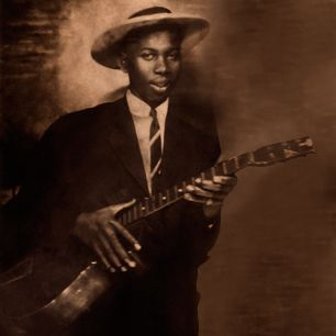 Robert Johnson, una de las más grandes influencias entre los guitarristas de blues