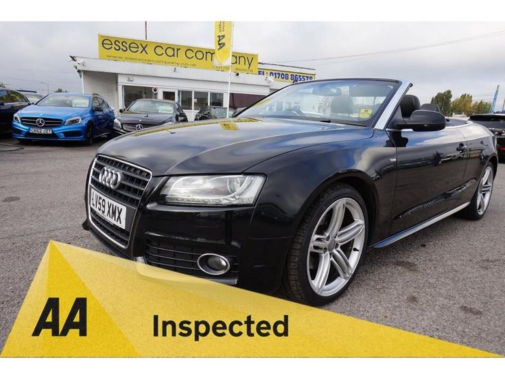 AUDI A5 Convertible 2.0 TDI S Line 2dr.  Stunning #Audi #A5 #Convertible #For #Sale #Essex #London