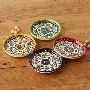 Wedding - West Bank Set of 4 Appetizer Plates