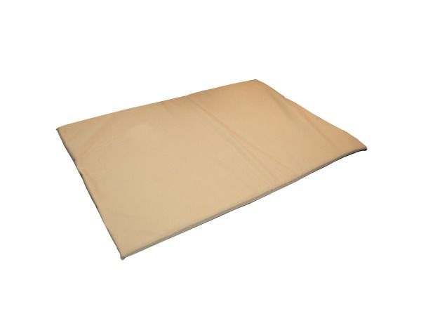 "Easy to Clean Cozy Pet Mat, 1 - Ideal for all breeds, this Easy to Clean Cozy Pet Mat features a soft, padded durable beige nylon mat with a black textured, anti-slip base. Great for crates and lounging anywhere. Cover has a zipper and is removable and machine washable. Measures approximately 39"" x 27"". Comes packaged in a poly bag with a hang tag.-Colors: black,beige. Material: metal,plastic,polyester,nylon,foam. Weight: 5.6667/unit"