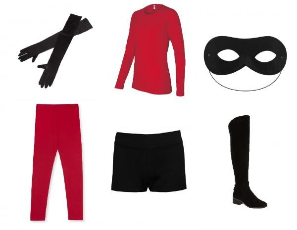 How To Make The Incredibles Costume Get Your Materials Together Incredibles Costume Incredibles Costume Diy Disney Characters Costumes