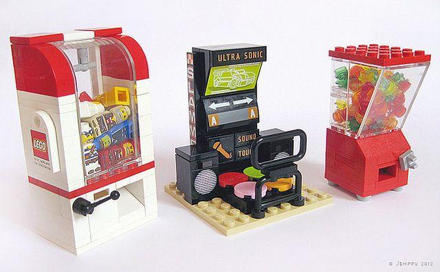 Arcade machines by Jemppu M, via Flickr