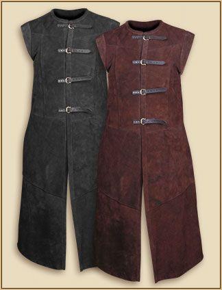 Free Long Leather Vest Pattern 51