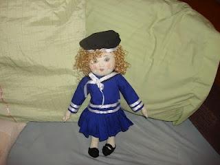 Shirley Temple art doll