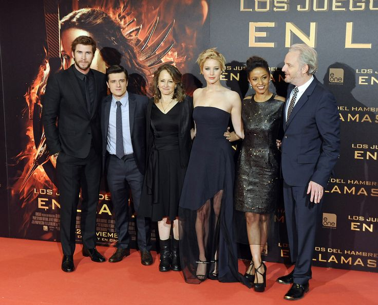 Hunger Games Premiere Pictures