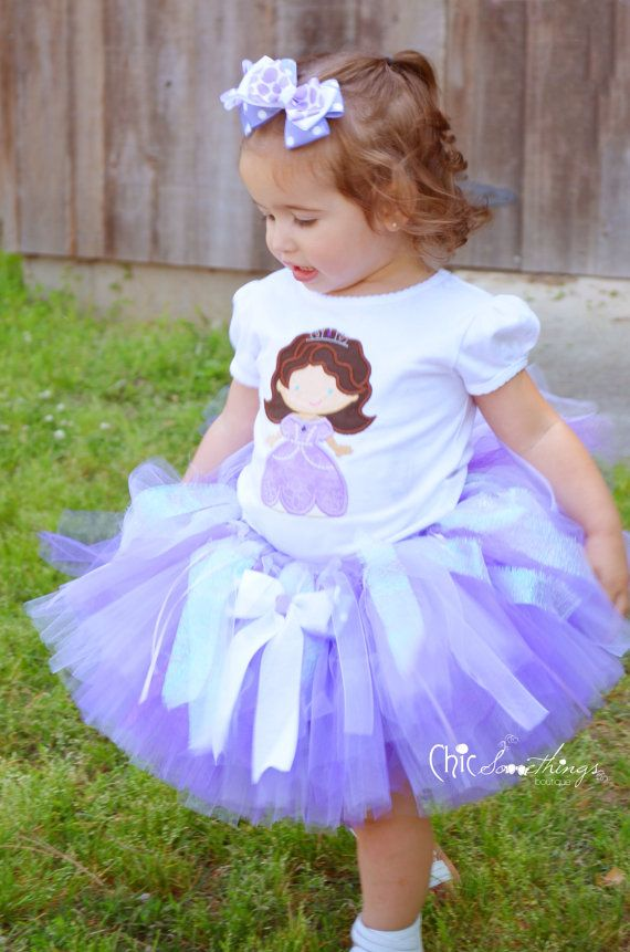 59700a088 Disney PRINCESS SOPHIA Inspired Tutu Dress From Sophia The First Perfect  For A Halloween Costume Dress Up Birthday Party Or Photo Shoot | Pinterest .