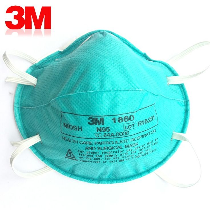 3m 1860 particulate respirator and surgical mask health