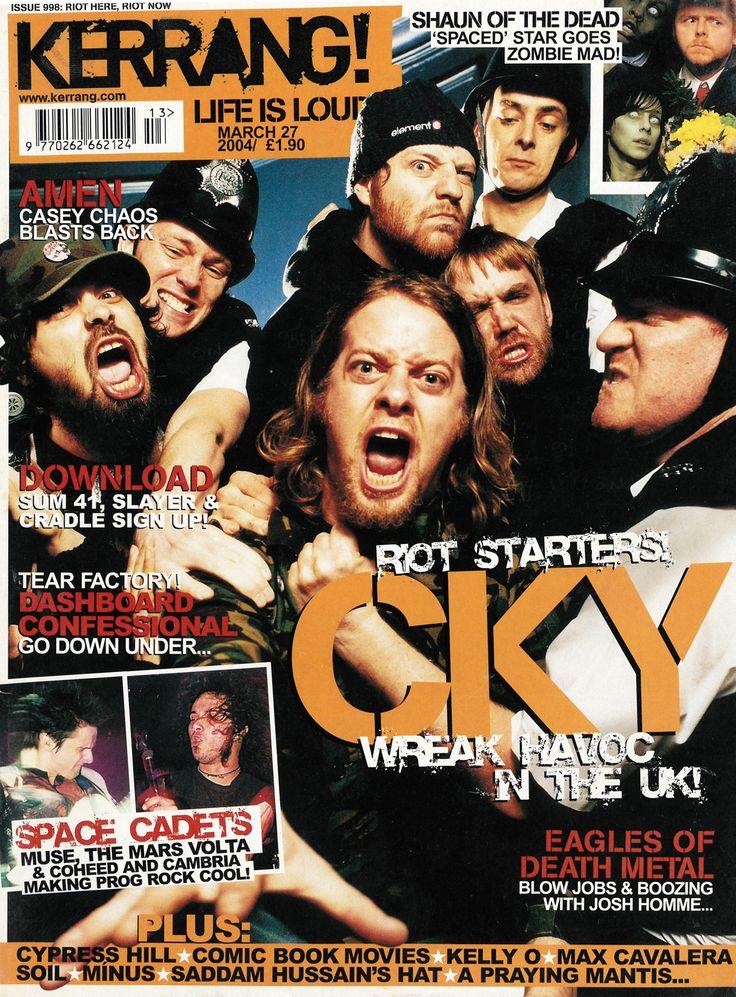 CKY - Kerrang! #998 - Imgur