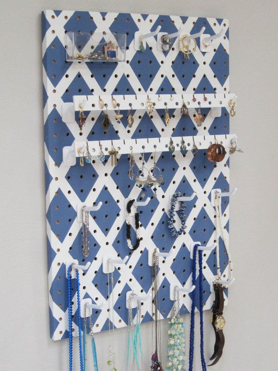 14 best Necklace pegboard images on Pinterest Jewelry storage