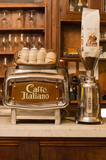 Caffè Italiano - as seen on the board Coffee Culture by linenandlavender.net - http://www.pinterest.com/linenlavender/