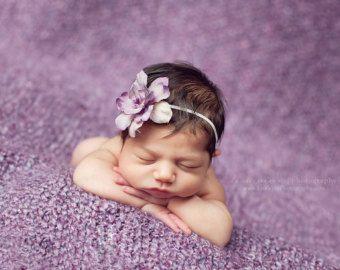 Baby Stirnband Gold Neugeborenen Stirnband Baby Girl von EcoStreet