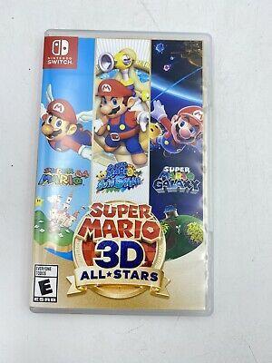 Replacement Case Only Super Mario 3d Allstars Nintendo Switch Box Original Case Ebay In 2020 Super Mario 3d Super Mario 3d Star