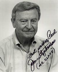 John Stephenson, 91, American actor (The Flintstones, Dragnet, Jonny Quest)