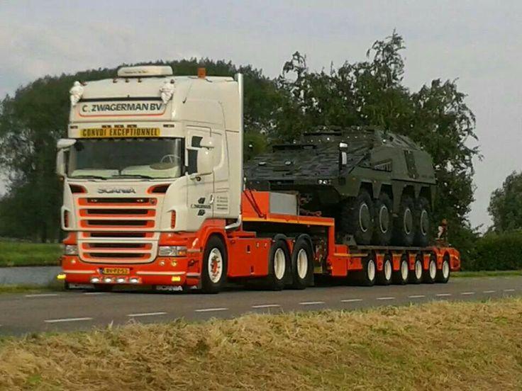 Scania super. speciaaltransport.  C.zwagerman.