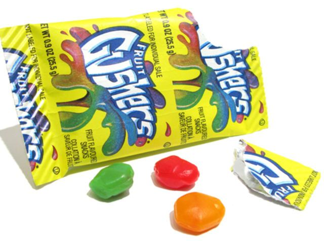 "Fruit Gushers: the currency of grade school...This article is so funny! ""31 foods you ate as a child"""