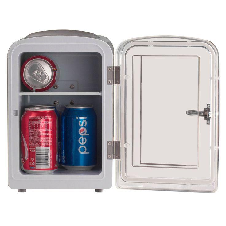 Smad DC12V AC110V ABS Мини-Грузовик Компактный Холодильник Термоэлектрический Теплее Холодильник Пива Соды Кемпер